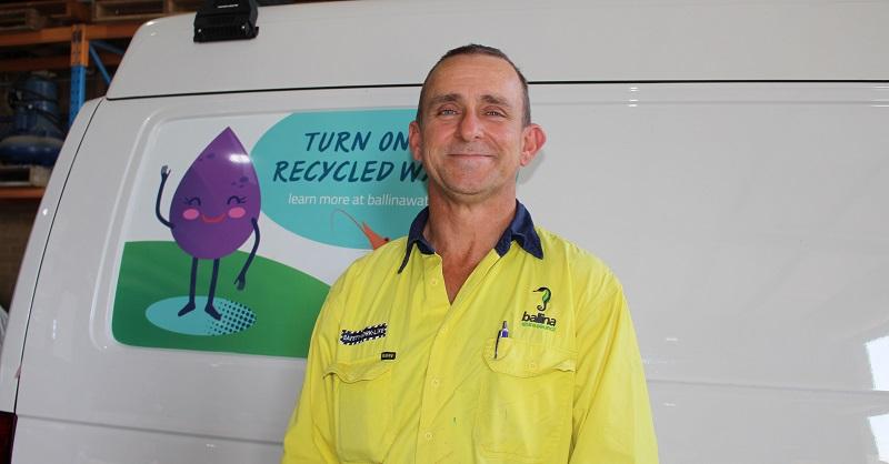 Ballina wastewater fitter Mark Fleming