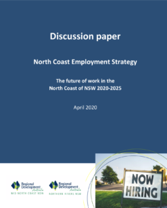 North Coast Employment Strategy Discussion Paper - cover