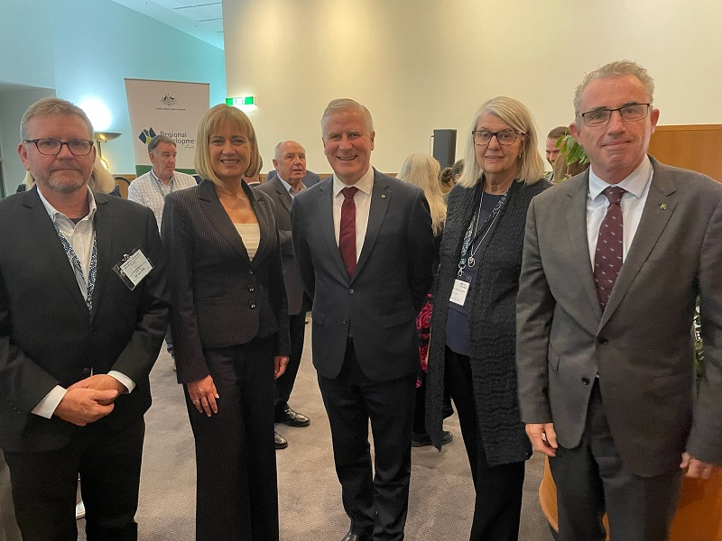 RDA Deputy Chair and DRD with MPs at RDA National forum 2021
